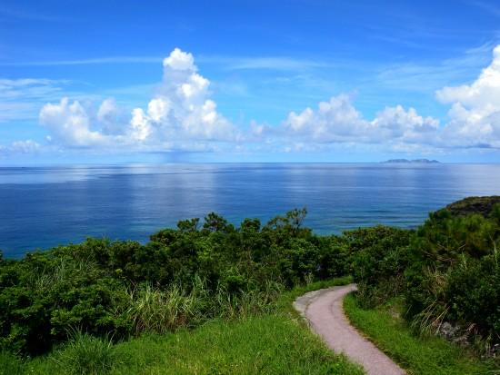座間味島・神の浜展望台