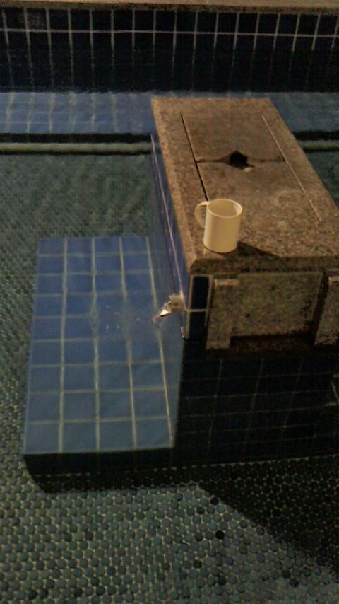 ラジウム泉は、吸入がメインと言われますが、飲泉も重要!「うえの湯」「したの湯」では、源泉を飲むことが可能です。