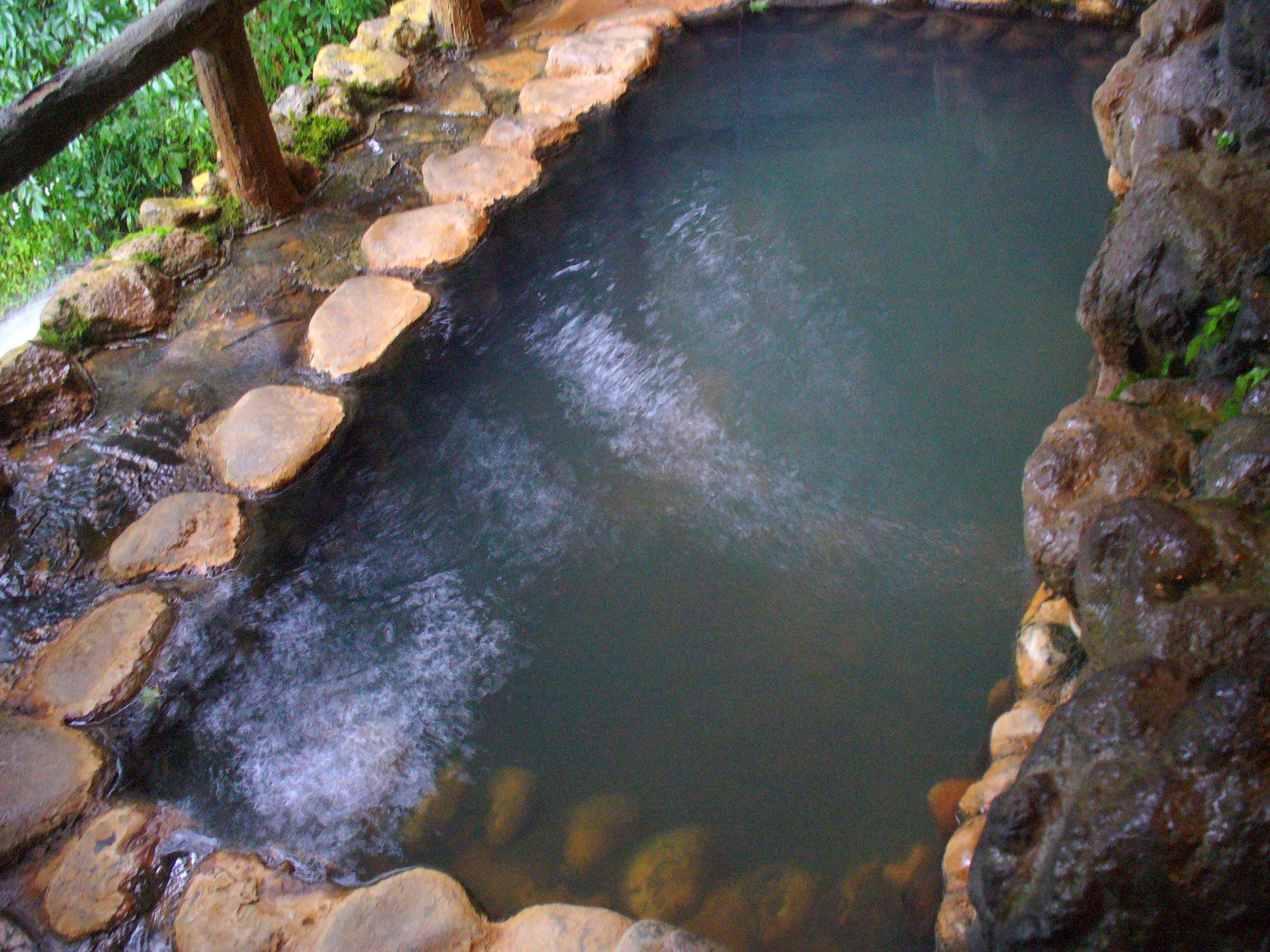 下段の湯。
