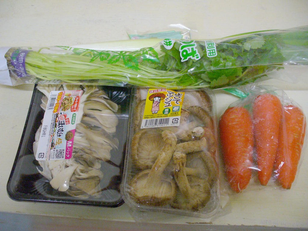 秋田産のお野菜たちです♪