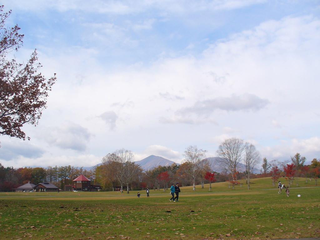 小岩井農場のまきば園。