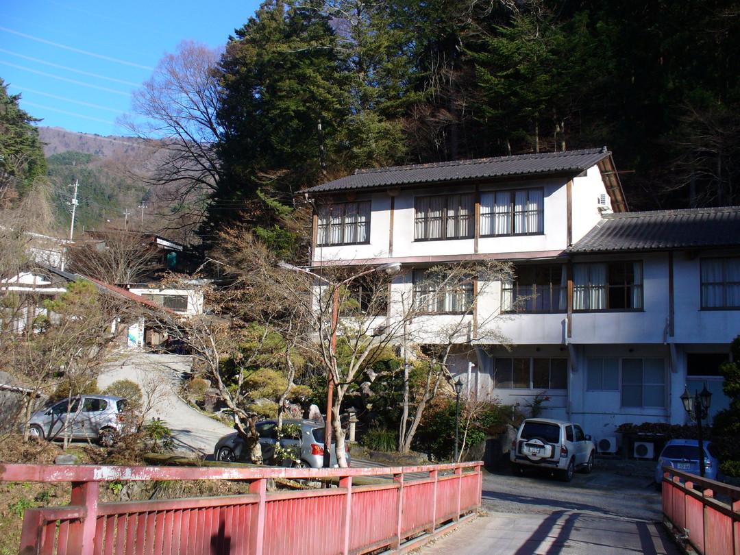 雲峰荘の建物。