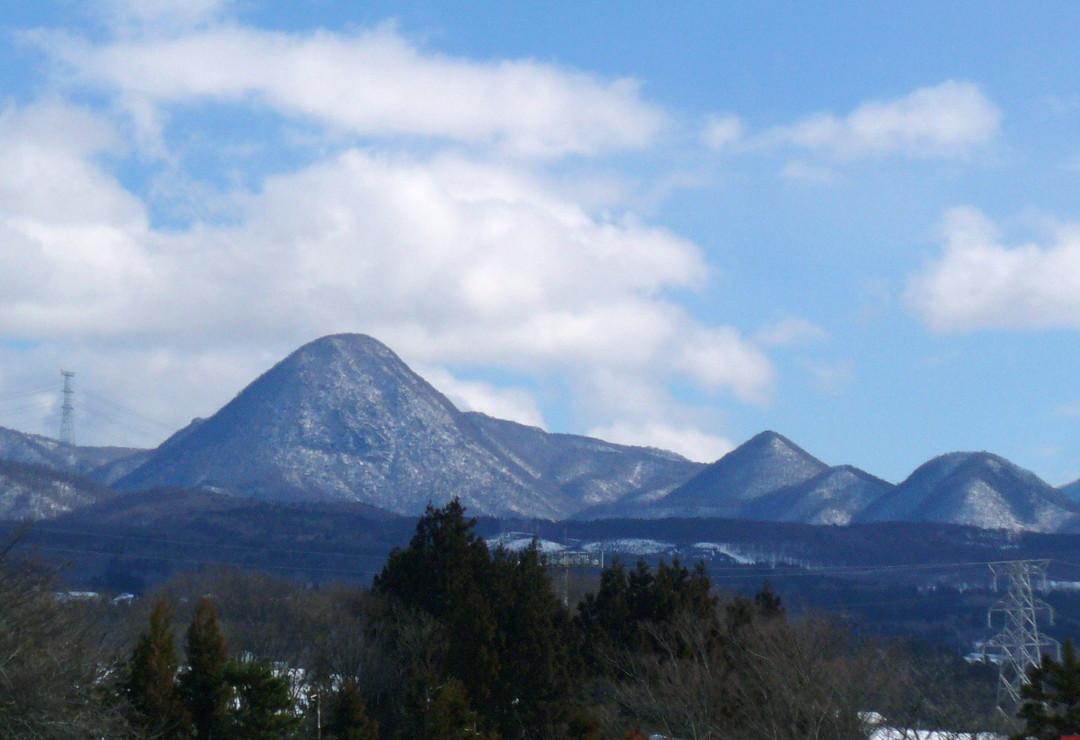 赤城高原PAから眺めた山々と青空♪