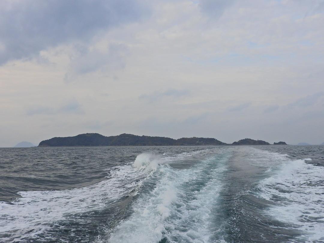 青島全景(帰路の船上より撮影)