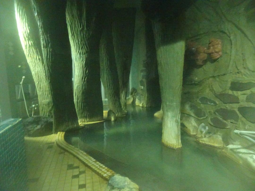 こちらは、天狗の湯。混浴なので、遠慮して写真だけパチリ。