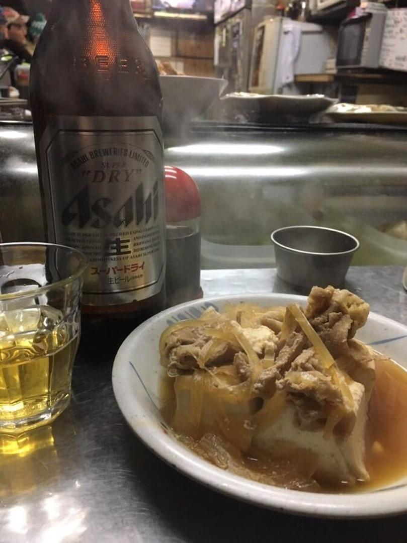味がしみしみの肉豆腐