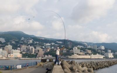 釣りの前に